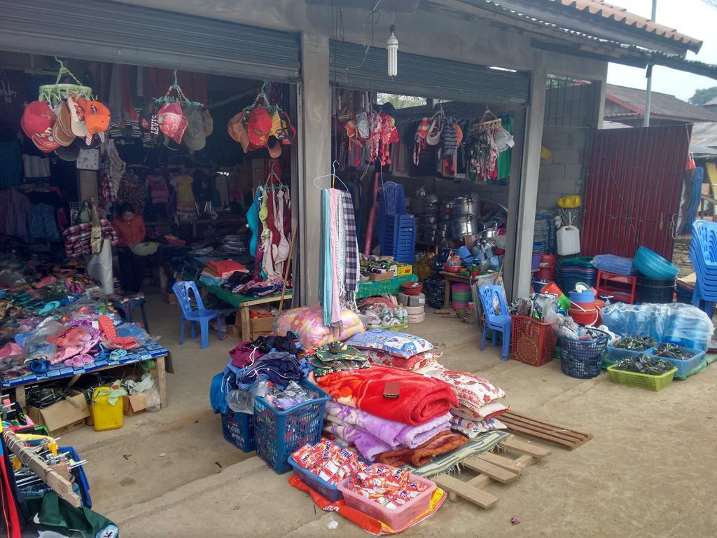 Typical Laos shop